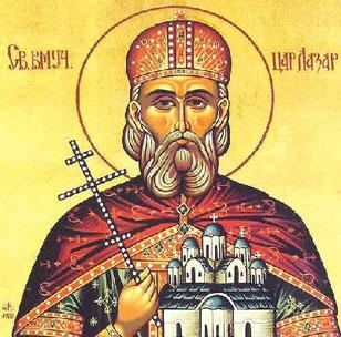 The holy Martyr Lazar, Serbian Prince - Vidovdan