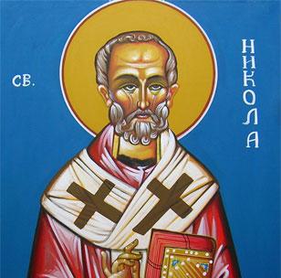 Никољдан, Свети Николај Мирликијски Чудотворац
